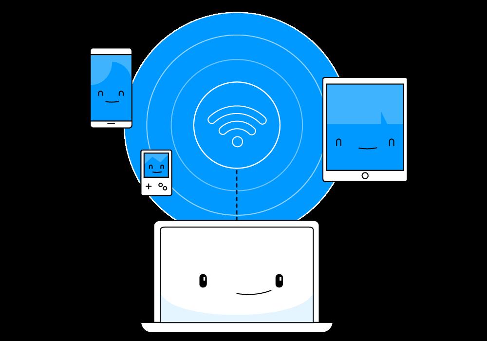 wifi channel width 20 or 40 mhz